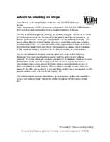 Smoking Guidelines